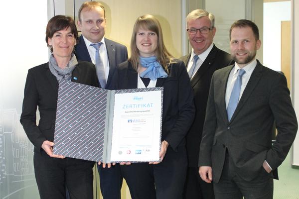 VR Bank HessenLand bietet zertifizierte Beratungsqualität