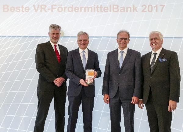 Auszeichnung Beste Fördermittelbank 2017