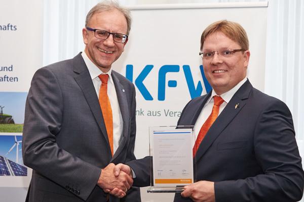 Bester Fördermittelberater bei der VR Bank HessenLand