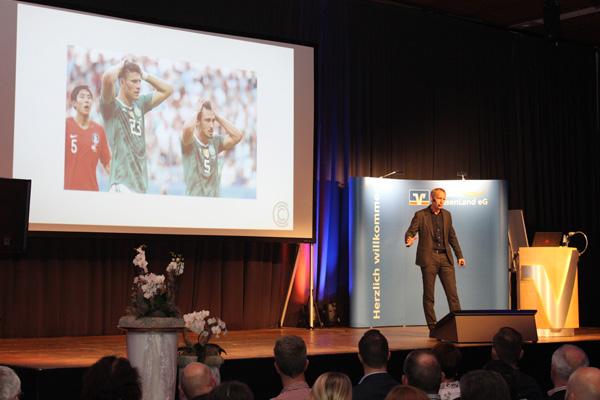 Der Sportpsychologe gibt interessante Einblicke in seine Arbeit mit Spitzensportlern.