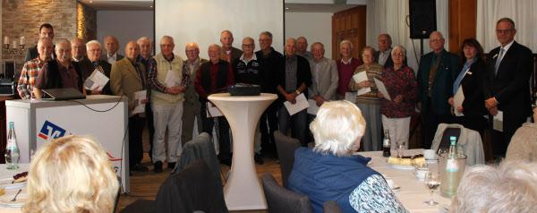 Mitgliederehrung in der Region Kirchhain