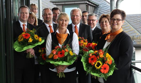 Mitarbeiterjubilaen Vr Bank Hessenland Eg