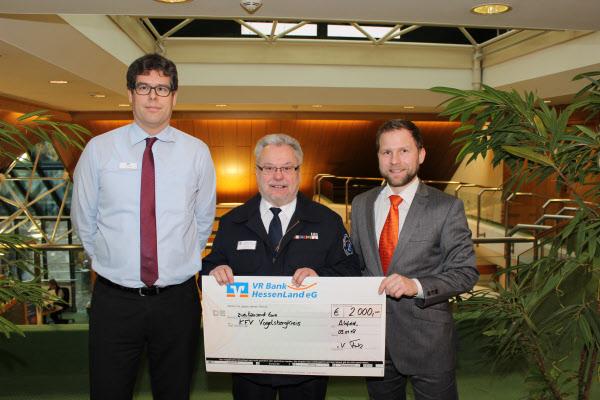 Spendenübergabe an Kreisfeuerwehrverband Vogelsbergkreis